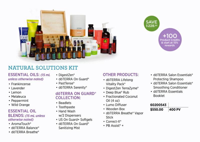Dōterra Enrollment Kits Essential Ninja Oils For Life