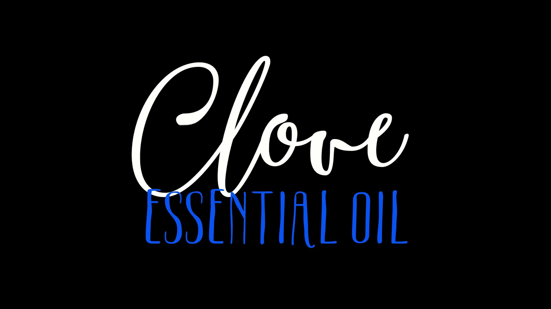 What does Clove Essential Oil have to do with Sex? Autophagy - that's what.