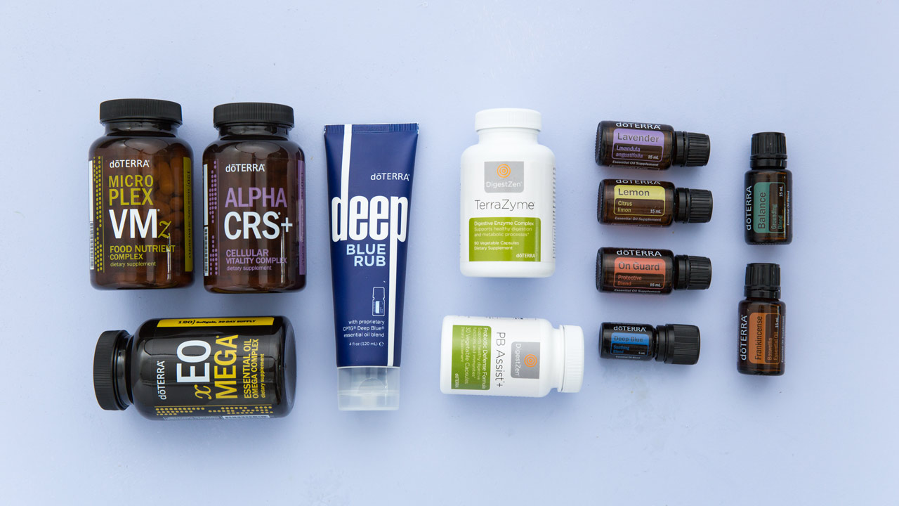 The limited availability doTERRA Healthy Habits Enrollment Kit | This doTERRA enrollment kit includes products recommended for daily use in order to achieve and maintain a healthy lifestyle.