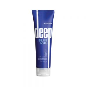 Deep Blue® Rub doTERRA® Deep Blue Rub is a topical cream formulated with Deep Blue Soothing Blend of CPTG Certified Pure Therapeutic Grade® essential oils, natural plant extracts, and additional helpful ingredients that provides a comforting sensation of cooling and warmth to problem areas.