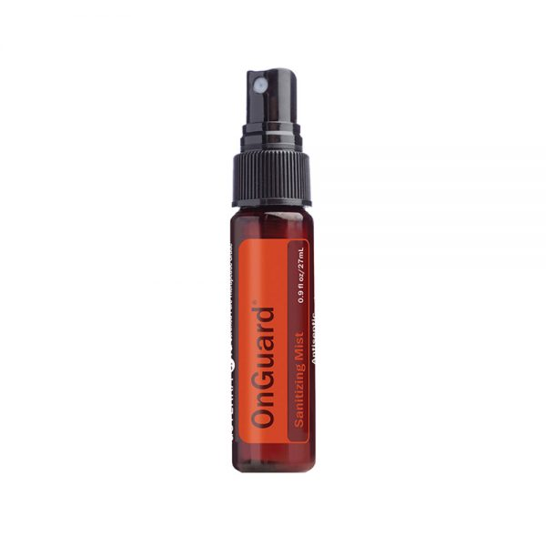 dōTERRA On Guard® Sanitizing Mist doTERRA On Guard Sanitizing Mist purifies hands by eliminating bacteria and other germs on the skin. The moisturizing formula effectively cleanses hands without drying the skin, while the doTERRA On Guard blend of CPTG® of essential oils provides an uplifting citrus spice aroma.