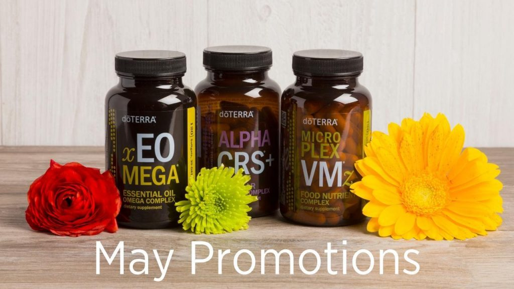 doTERRA Products of the Month for May 2019 - May Promotions Header Image