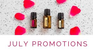 doTERRA Products of the Month for July 2019 - July Promotions Header Image